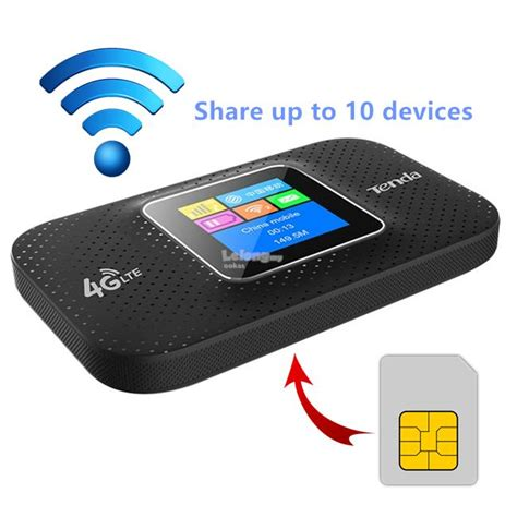 Wifi Modem Portable tenda 4g185 4g lte portable wireles end 4 17 2019 12 31 pm