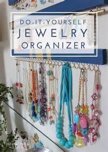 Diy Bedroom Organization Ideas diy jewelry organizer the homes i have made