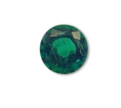 Smaragd Kaufen by Smaragd Rund Facettiert 4 68ct Smaragd Kaufen