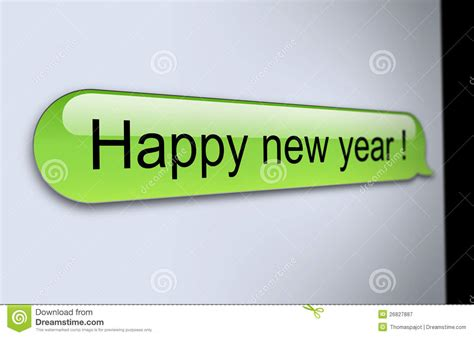 happy new year sms royalty free stock photography image