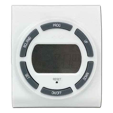 ge sunsmart seven day two outlet digital timer jasco