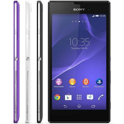 sony android phone sony xperia t3 ultra slim android phone announced gadgetsin