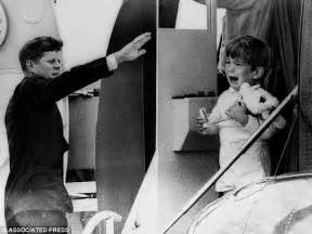 f kennedy jr children where were jfk s children when he was assassinated daily mail