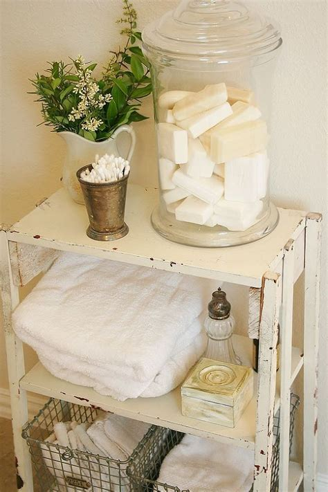 bathroom decor items 52 ways incorporate shabby chic style into every room in your home