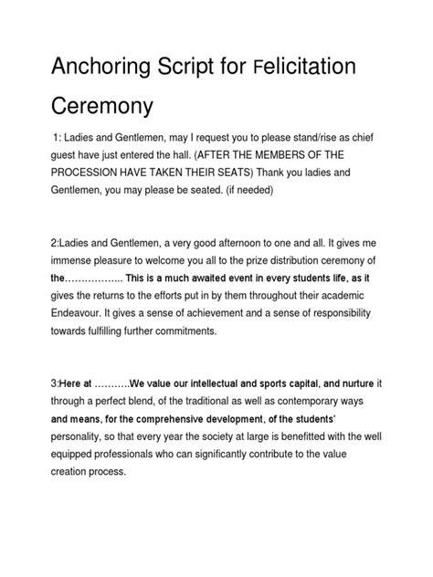 Ceo Chief Event Organizer Ibnu Novel Hafidz anchoring script for convocation ceremony