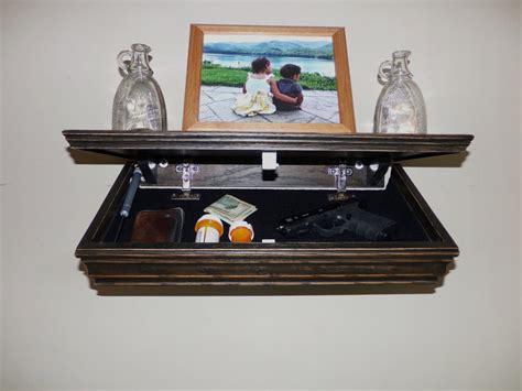 Shelf With Compartment by Gun Compartment Shelf Stashvault