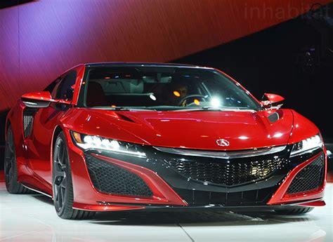 acura hybrid cars acura unveils production ready nsx hybrid supercar at the