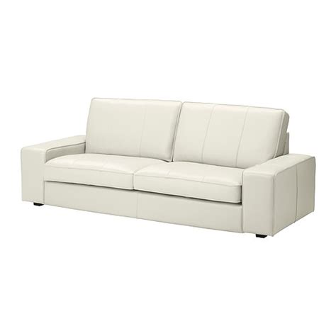 sofa ikea leather ikea white leather sofa