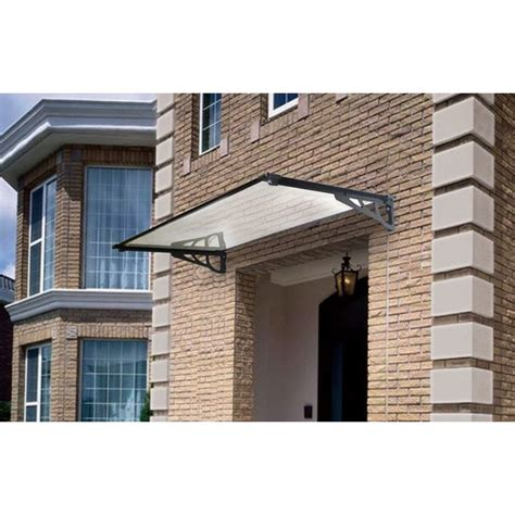 window canopies and awnings stradbroke window awning clear door canopy 120x80cm buy