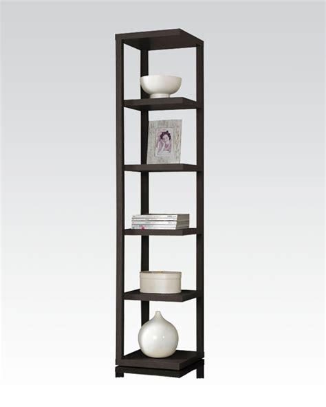 Acme Furniture Thin Bookcase Ac92090 Thin White Bookcase
