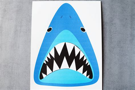 shark teeth template find sharky s teeth printable shark all for the boys