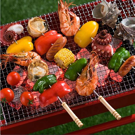 stick a fork in whole foods infowars alex jones 12 pieces 38cm barbecue skewers wooden handle bbq meat