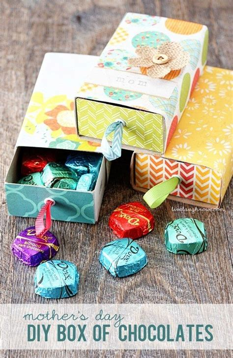 make a diy box for your mom s favorite bon bons diy box