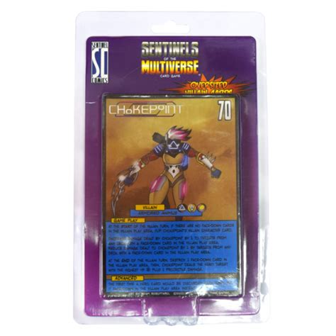 Sentinels Of The Multiverse Villains sentinels of the multiverse oversized villain character