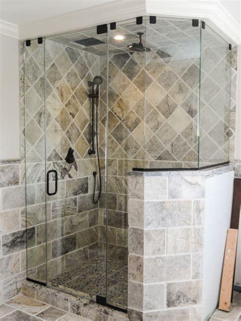 Glass Shower Doors Nj by The 3 Most Popular Frameless Glass Shower Designs