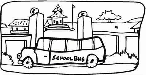 school bus safety coloring pages coloring home