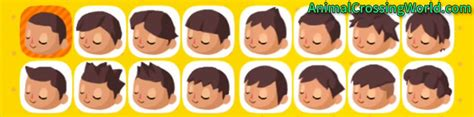 animal crossing boy hairstyles boy hairstyle guide acnl hairstyles by unixcode