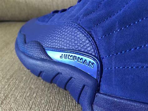 Air 12 Retro Royal Blue Suede Legit air 12 blue suede release date sneaker bar detroit