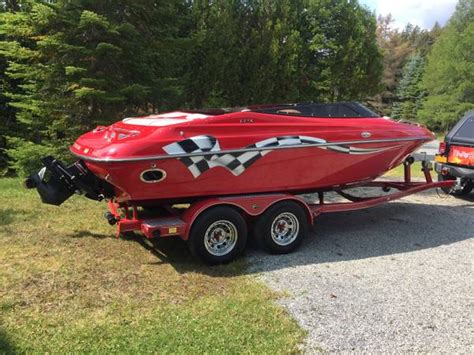 boats for sale white lake ny 2003 crownline lpx with custom trailer 17500 syracuse