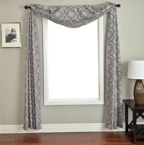 scarf curtains ideas scarf curtain decorating ideas home design ideas