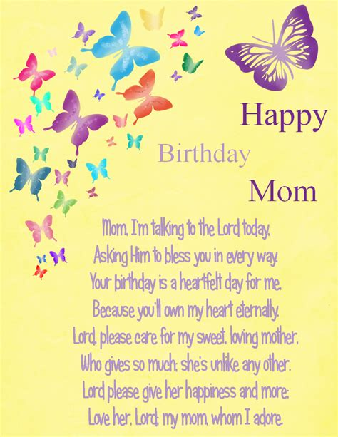 Birthday Quotes For From Happy Birthday Mom By Karen Cook Good Things Pinterest