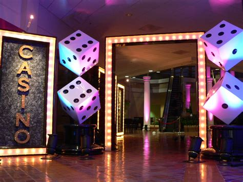 event theme decorations why not make it a jacksonville casino