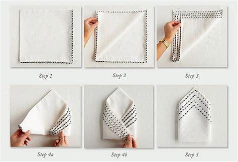 Ways To Fold A Paper Napkin - napkin folding ideas