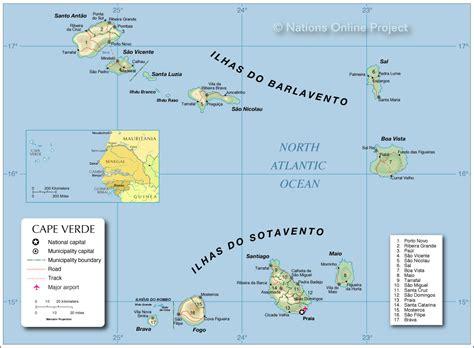 cape verde islands map administrative map of cape verde 1200 pixel nations