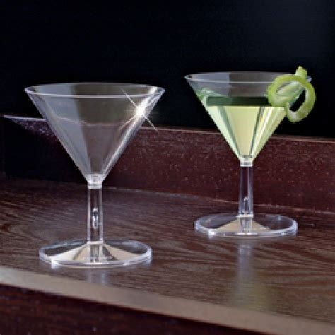 mini martini glasses mini catering supplies 2 oz disposable plastic mini