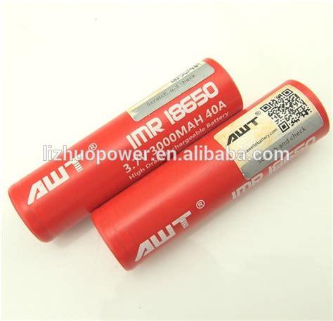 Baterai Awt 40a 3000mah Authentic 100 100 Authentic Awt 18650 3000mah 40a Crit Box Mod Mellody Box Mod 1 1 Clone Battery For Ecig Mod