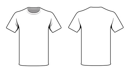 White T Shirt Template Unconventional Tee Kt 8 Ook 8 Ac Ideastocker White T Shirt Template