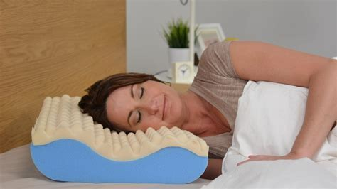 comfort trac contour cervical pillow for neck support
