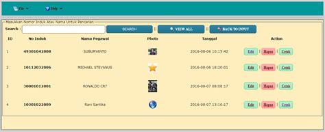 membuat barcode menggunakan php cara membuat id card pegawai dengan barcode di php php