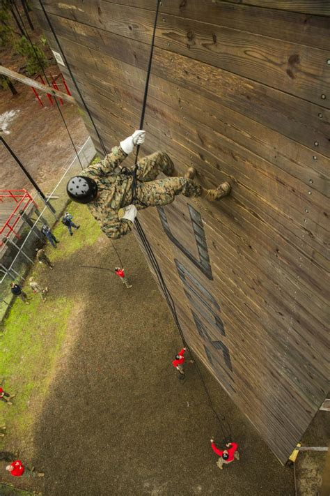 dvids images marine recruits conquer parris island rappel tower image