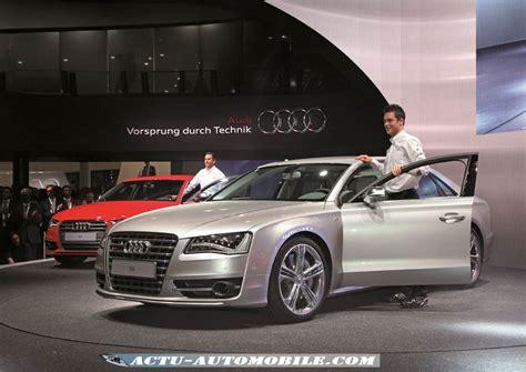 2011 Audi S8 by Salon De Francfort 2011 Audi S8 Actu Automobile