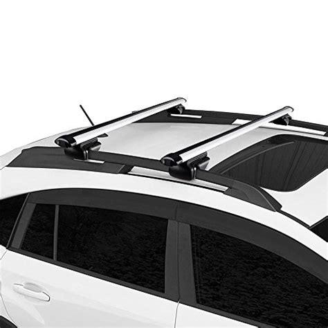 car top carrier cross bars yescom universal 48 quot car top luggage cross bar roof rack