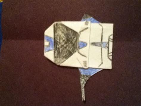 Origami Clone Trooper - clone trooper origami yoda