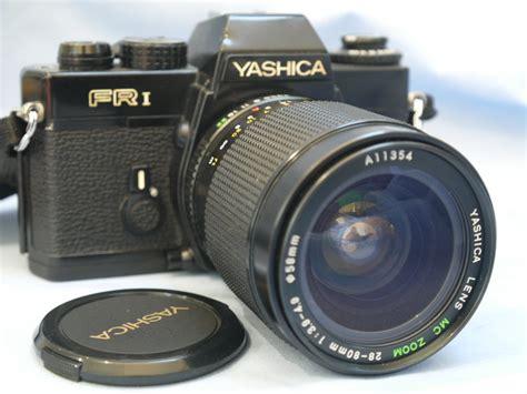 yashica slr yashica fr1 slr c w yashica 28 80mm lens 34 99