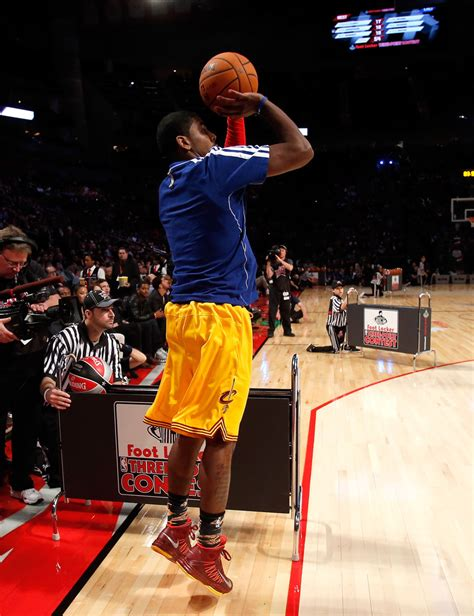 Kyrie 3 Three Point Contest kyrie irving in foot locker three point contest 2013 zimbio