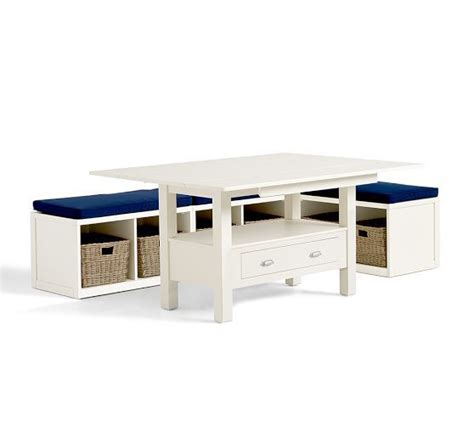 modular banquette ryland drop leaf table modular banquette pottery barn