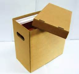 vinyl record storage containers 2 x 12 quot vinyl record storage boxes holds approx 70 ebay