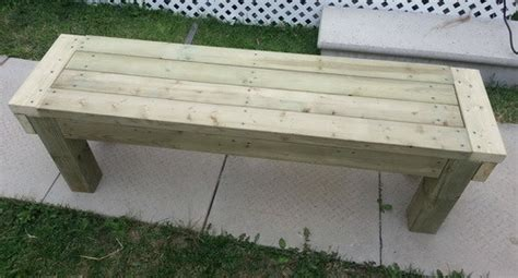 simple deck bench patio bench plans treenovation