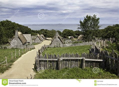 of plymouth plantation audio plimoth plantation at plymouth ma royalty free stock