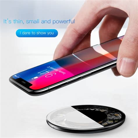 baseus  qi wireless charger  iphone xxs max xr    samsung  ss note