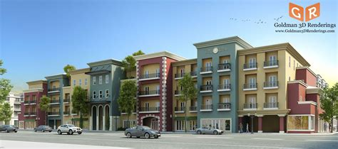 apartment design development ltd architectural renderings in los angeles types of 3d