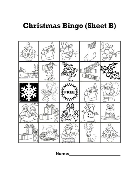 printable christmas bingo cards black and white christmas bingo sheets printable search results