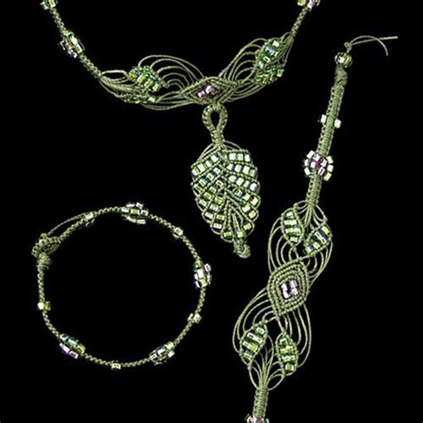 Macrame Kits - the beadery jewelry necklace kit micro macrame