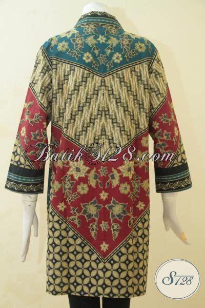 desain baju wanita keren baju batik keren untuk wanita muda dan dewasa busana blus