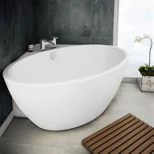 Bathroom Bathtub Uk Orbit Corner Modern Free Standing Bath