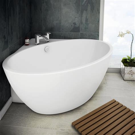 corner soaking bathtub orbit corner modern free standing bath victorian plumbing co uk